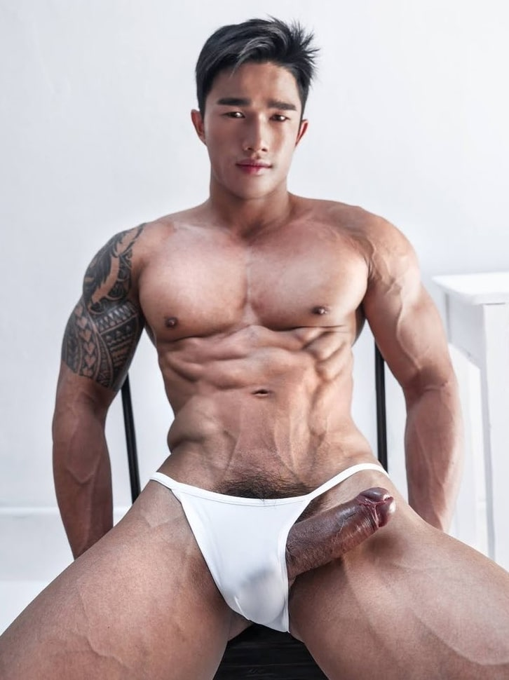 Big thick cock sticking out