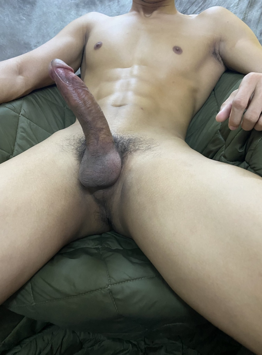 Big thick erected penis