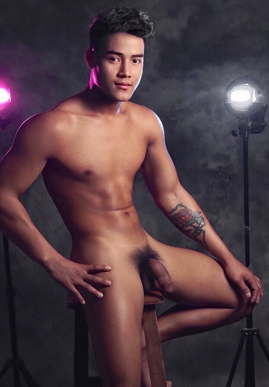 Hot boy with a big cock