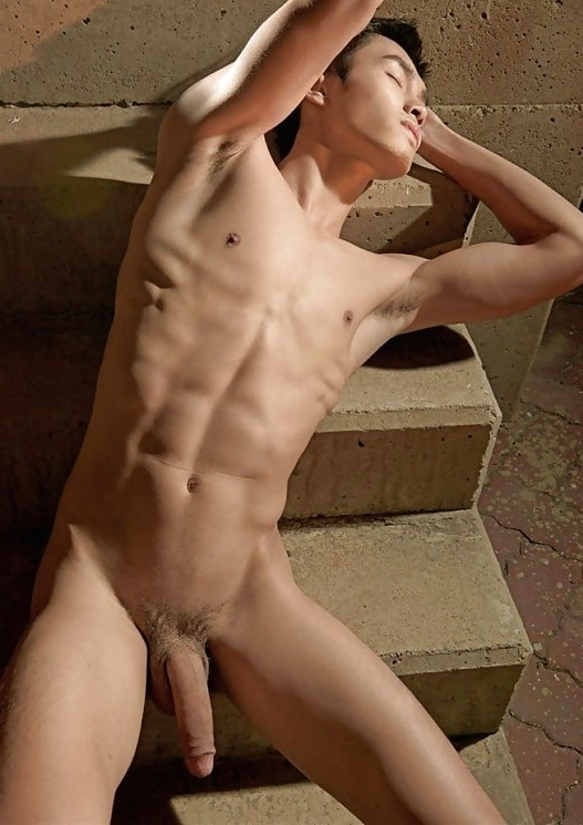Muscle boy with a big dick