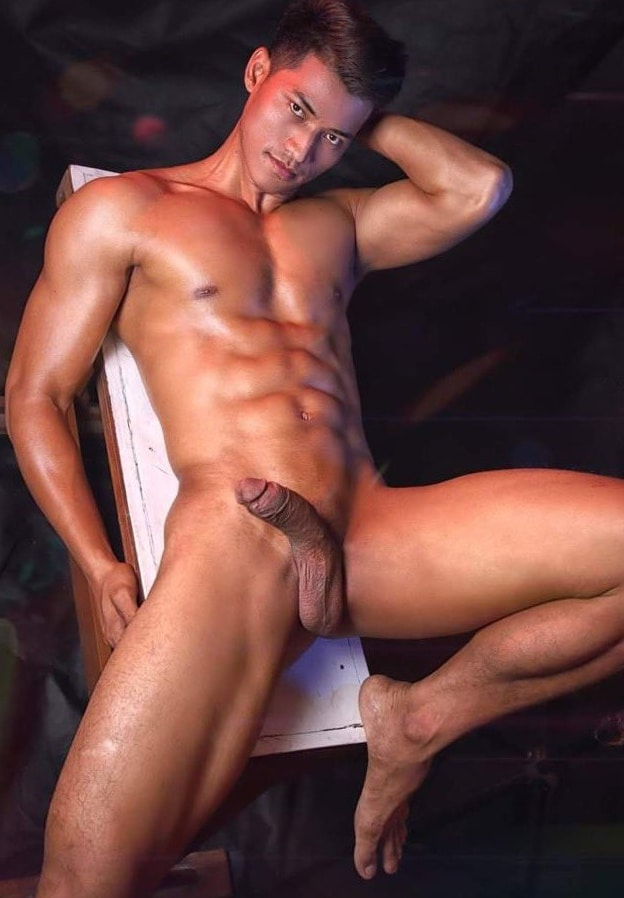 Stud with a shaved penis