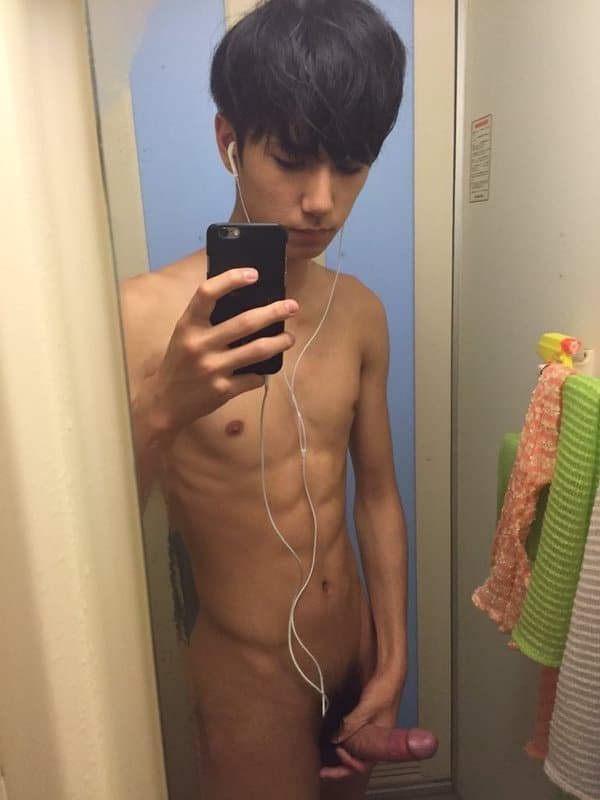 Twink taking a dick picture